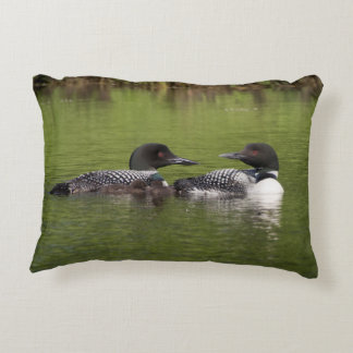 Lake Nettie Loons pillow