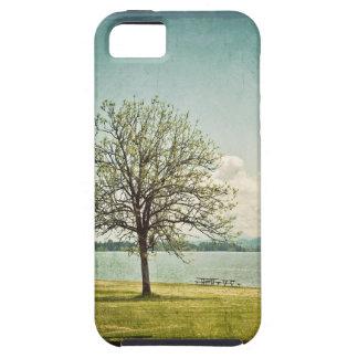 Lake & Oak Tree iPhone 5 Case