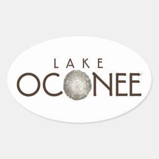 Lake Oconee Oval Sticker