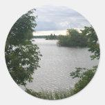 Lake Of  Beauty Sticker