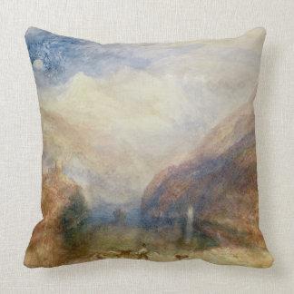 Lake of Brienz (w/c) Pillows