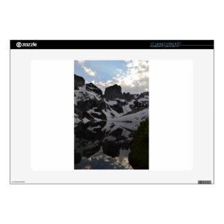 "Lake of Crags reflection Grand Teton National Park 15"" Laptop Skins"