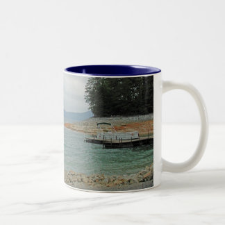 Lake of Dreams Two-Tone Coffee Mug
