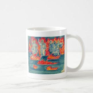 Lake Of Fire Classic White Coffee Mug