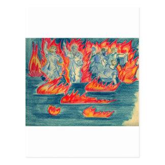 Lake Of Fire Postcard