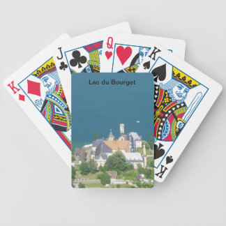 Lake of Le Bourget - Bicycle Playing Cards
