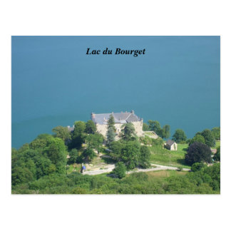 Lake of Le Bourget - Post Card