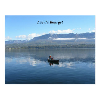 Lake of Le Bourget - Postcard