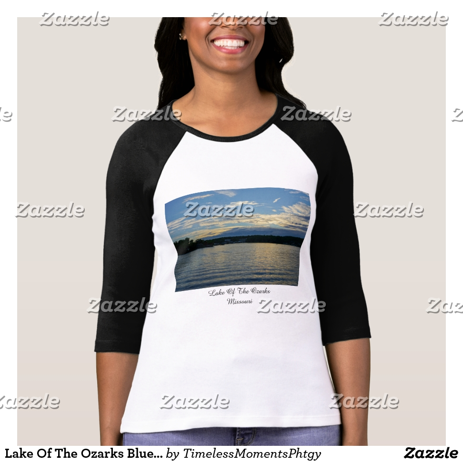 Lake Of The Ozarks Blue Sunset T-Shirt - Best Selling Long-Sleeve Street Fashion Shirt Designs