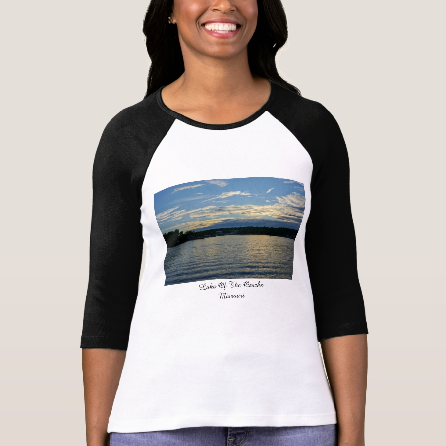 Lake Of The Ozarks Blue Sunset T-Shirt - Best Selling Long-Sleeve Street Fashion Shirt Designs