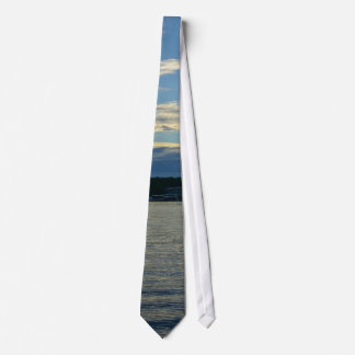 Lake Of The Ozarks Blue Sunset Tie