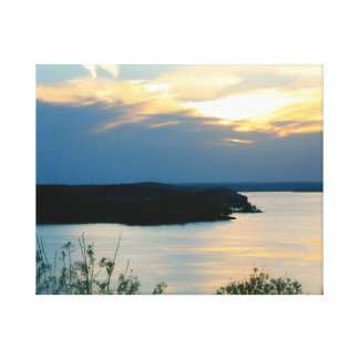 LAKE OF THE OZARKS ON CANVAS