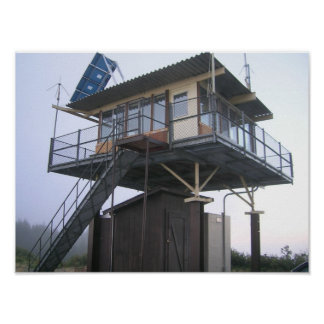 Lake of the Woods Fire Lookout Poster