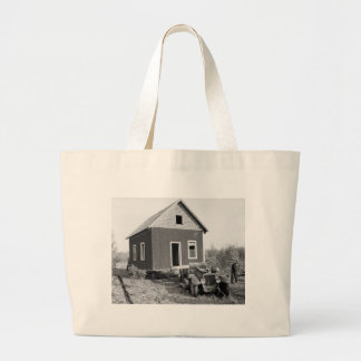 Lake of the Woods Mobile Home, 1930s Tote Bags