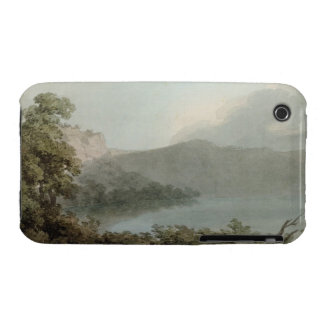 Lake of Vico Between Rome and Florence, 1783 (grap iPhone 3 Cover