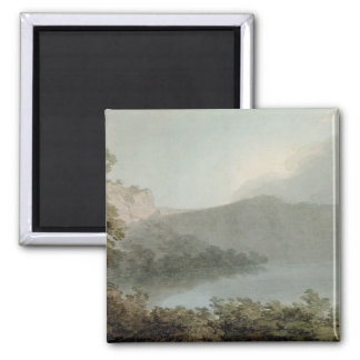 Lake of Vico Between Rome and Florence, 1783 (grap Magnet