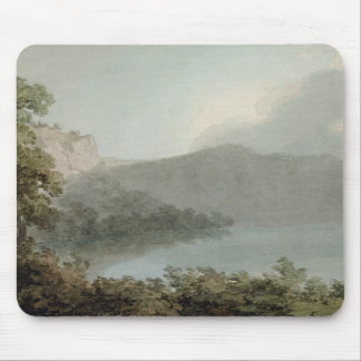 Lake of Vico Between Rome and Florence, 1783 (grap Mouse Pad