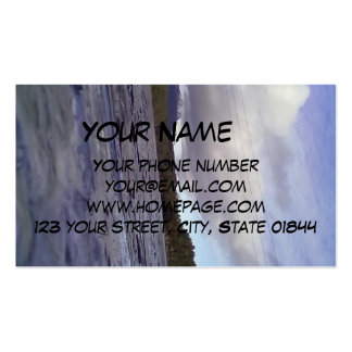 Lake of water business card