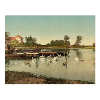 Lake of Worlitz, Eichenkranz and Gondelplatz, Anha Postcard