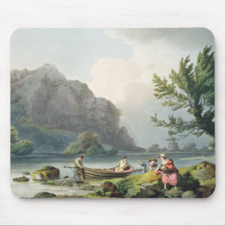 Lake of Wyndermere, from 'The Romantic and Picture Mouse Pad