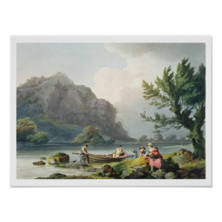 Lake of Wyndermere, from 'The Romantic and Picture Poster