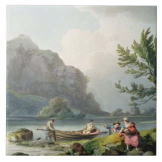 Lake of Wyndermere, from 'The Romantic and Picture Tile
