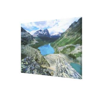 Lake O'Hara, Yoho NP, BC, Canada Canvas Print
