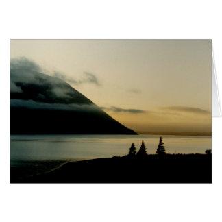 Lake Ohau Sunrise Card