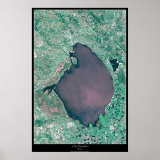 Lake Okeechobee, Florida satellite poster