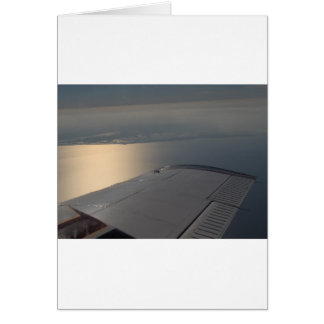 Lake Okeechobee from Above Greeting Card