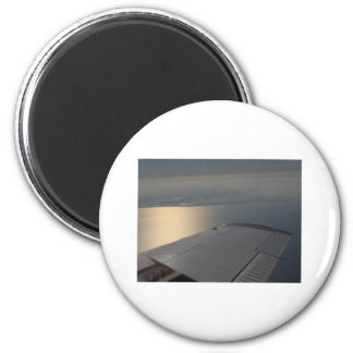 Lake Okeechobee from Above 2 Inch Round Magnet
