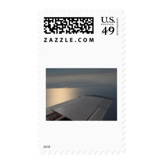 Lake Okeechobee from Above Postage Stamp