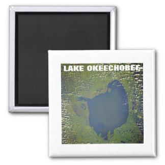 Lake Okeechobee 2 Inch Square Magnet