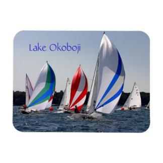 Lake Okoboji photo magnet