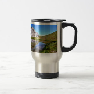 Lake on an a Mountaintop Coffee Mugs