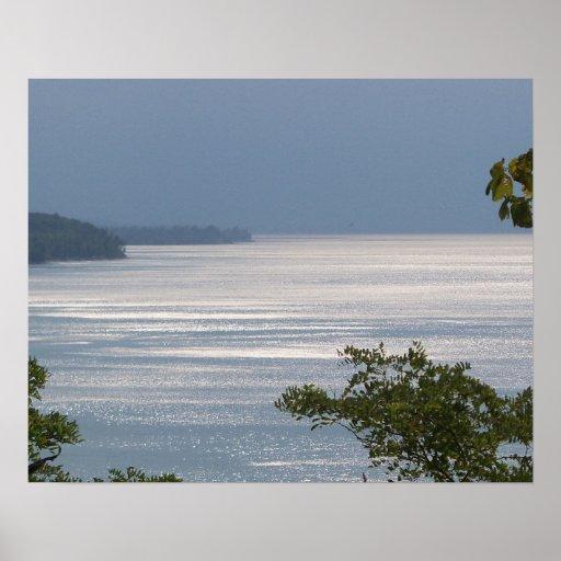 """Lake Ontario #1"" print"