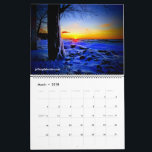 """Lake Ontario Calendar<br><div class=""""desc"""">Though the years and through the seasons, beautiful Lake Ontario has many faces and many moods. Enjoy a moment in time from every month of the year as captured by the camera of author, musician and photographer, Jeffery Dale Cole. The books, music and photography of Jeffery Dale Cole are available...</div>"""