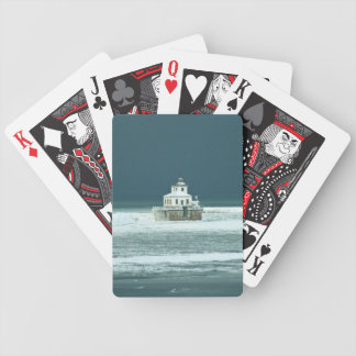 Lake Ontario Lighthouse Calm Before the Storm Bicycle Playing Cards