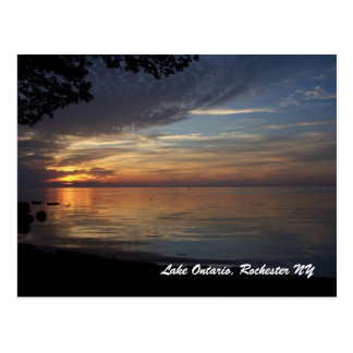 Lake Ontario, Rochester N.Y. Post Card