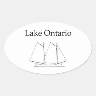 Lake Ontario Sailboat Stickers