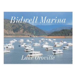 Lake Oroville, Bidwell Marina Postcard