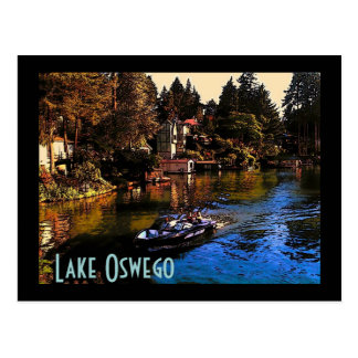 Lake Oswego Postcard