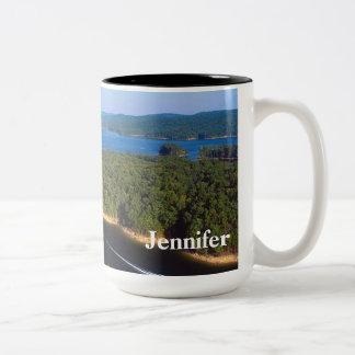 Lake Ouachita Arkansas Scenic personalized mug