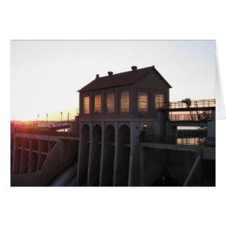 Lake Overholser Dam Greeting Card