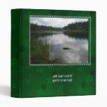 Lake Padden Stillness 3 Ring Binder