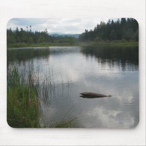 Lake Padden Stillness Mouse Pad