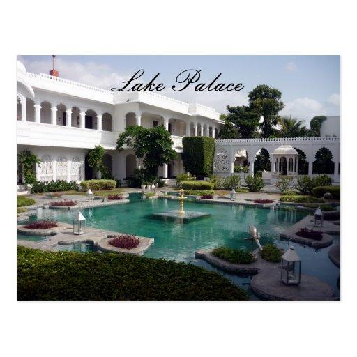 lake palace gardens postcards