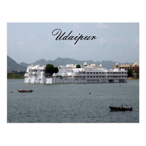 lake palace post cards
