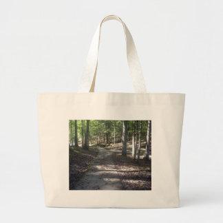 Lake Path Large Tote Bag