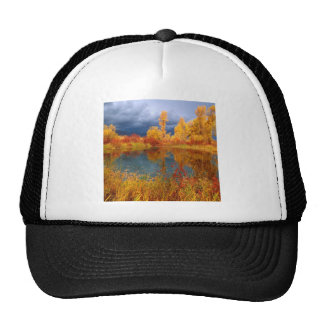 Lake Peggys Pond Mesh Hat
